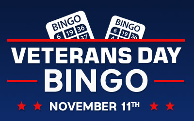 Veterans Day Bingo