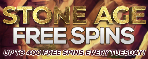 Stone Age Free Spins